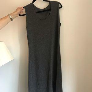 Women's Courage.B Grey Sleeveless Dress